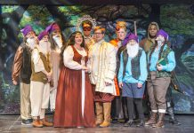 """The cast of KCC's 2016 Opera Workshop production """"Snow White: The Opera."""""""