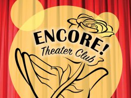 A text graphic for KCC's Encore Theater