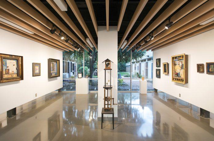 Image of KCCs art exhibit of Tim Sykora's work