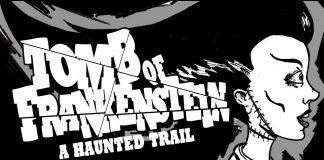 "Multimedia image promoting event, ""Tomb of Frankenstein"""