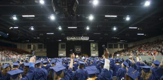 Picture from graduation commencement.