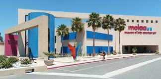 Photo of the MOLAA museum in Long Beach California