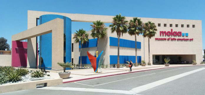 Photo of the MOLAA museum in Long Beach California