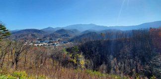 The Smoky Mountains.
