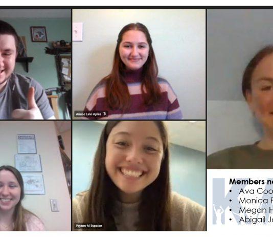 Kellogg Community College's Kampus Activity Board meets via Microsoft Teams.